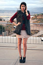 Ankle-boots-zara-boots-ruffled-zara-dress-knitted-zara-sweater