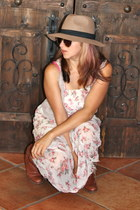 bubble gum maxi floral Yes Style dress