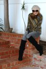 Steve-madden-boots-beanie-beret-forever-21-hat-pancho-max-studio-sweater