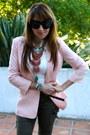 Light-pink-silky-blazer-forever-21-jacket-crimson-target-boots