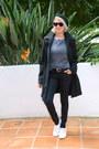 Black-trench-adrianne-vittadani-coat-black-coated-forever-21-jeans