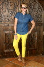 Light-brown-animal-print-tj-maxx-shoes-yellow-forever-21-jeans