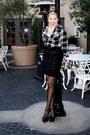 Polka-dot-sheer-forever-21-tights-sequin-mini-skirt