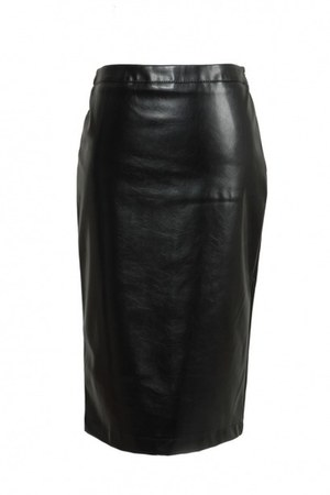 leather Love Moschino skirt