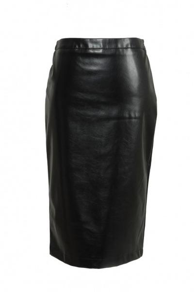 leather Love Moschino skirt