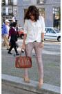 Printed-jeans-stradivarius-jeans-studded-shirt-mango-shirt