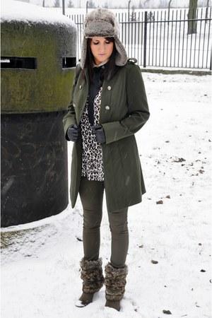 military Primark coat