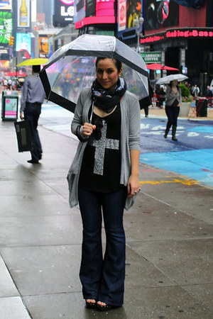 Gap jeans - Charlotte Russe scarf - f21 top