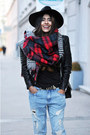 Cut-out-balenciaga-boots-boyfriend-zara-jeans-fedora-warehouse-hat