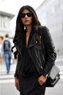 Black-cut-out-balenciaga-boots-black-leather-h-m-jacket