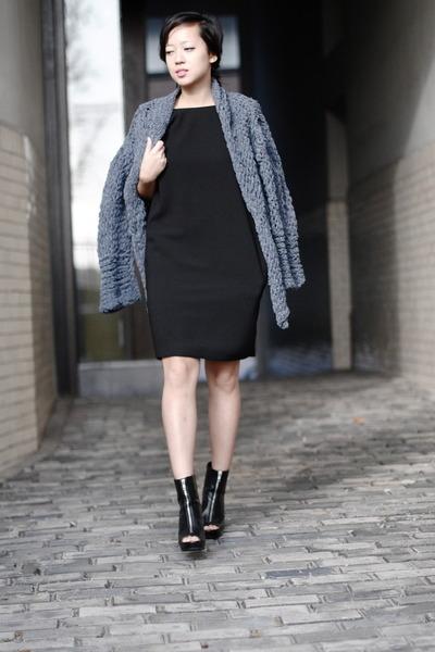 Zara dress - kiro by kim cardigan