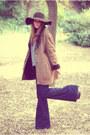 Vintage-coat-zara-jeans