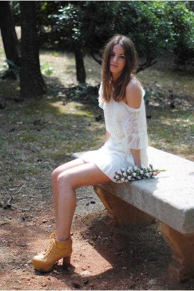 The Wardrobe dress - Jeffrey Campbell boots
