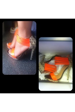 orange Just Fabulous shoes