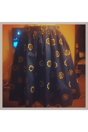 blue FUF skirt