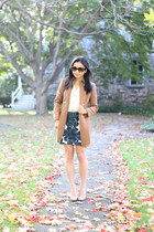 J Crew coat - J Crew skirt