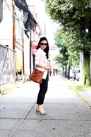 Cocostar blazer - See by Chloe bag - ann taylor pants