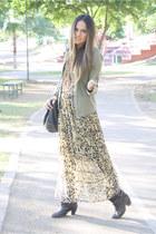 Zara bag - dark brown cowboy Zara boots