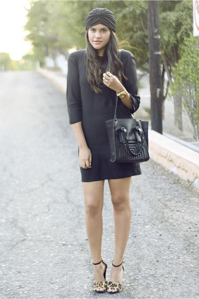 black turban asos accessories - black Stella McCartney dress