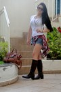 Mofficer-boots-mulberry-bag-aeropostale-blouse-h-m-top