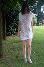 White-matthew-williamson-for-h-m-t-shirt-silver-jil-sander-shoes