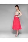 Hot-pink-mademoiselle-epaulette-skirt-cream-mademoiselle-epaulette-top