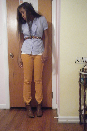 Forever 21 shirt - delias pants