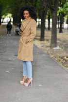 Mango coat - Steve Madden shoes - COS jeans