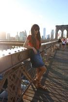 H&M top - H&M skirt - Giorgio Armani bra