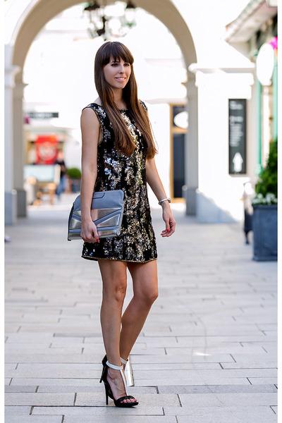 Karl Lagerfeld bag - Diesel dress - Karl Lagerfeld heels