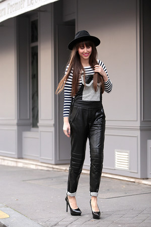 H&M hat - cukovy pants - H&M top