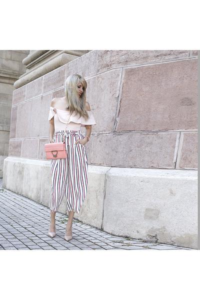 Coccinelle bracelet - Zara pants - Zara heels