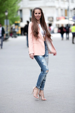 Zara blazer - H&M jeans - Primark top