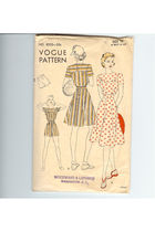 Vogue blouse - Vogue skirt - Vogue shorts
