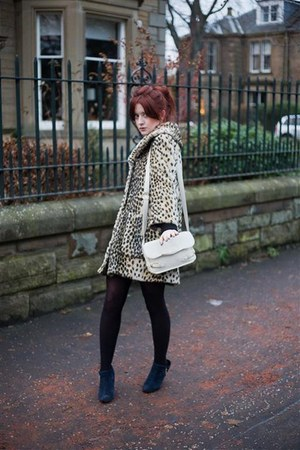Urban Outfitters boots - Topshop coat - Topshop bag