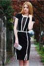 Black-and-white-little-mistress-dress