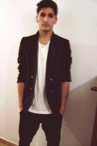 vintage jacket - Zara pants - vintage t-shirt