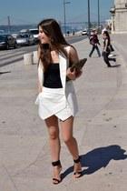 Zara shorts - Mang heels