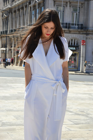Zara jumper - leather Zara heels