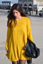 Zara shoes - Zara dress - Mango jacket
