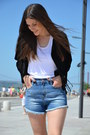 Leather-zara-jacket-denim-zara-shorts-zara-top