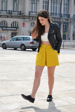 Zara shorts - Mango jacket - Zara top