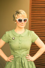 Lime-green-polka-dot-dangerfield-dress-white-lolita-sunglasses
