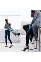 Pour La Victoire shoes - True Religion jeans - asos cardigan