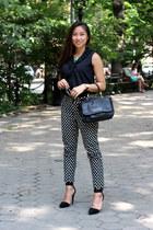 Michael Kors watch - black Marc Jacobs bag - black Jeffrey Campbell heels