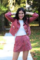 pink Dolce & Gabbana blazer - pink Dolce & Gabbana skirt