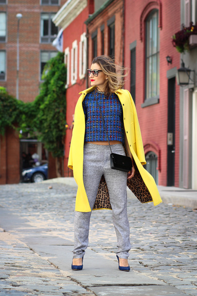 Chanel bag - Dolce & Gabbana jacket - t by alexander wang pants