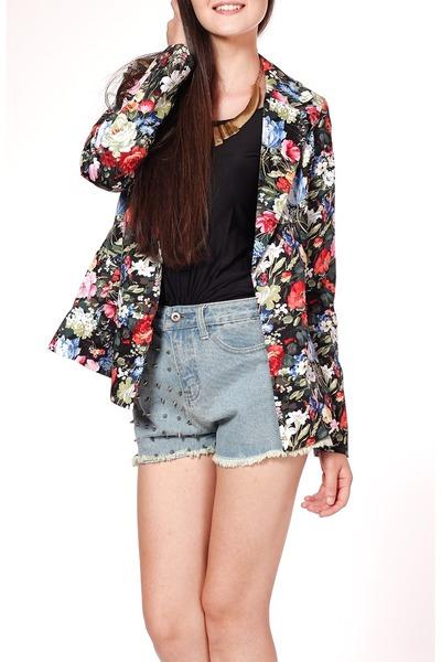 floral blazer Flauntcc blazer
