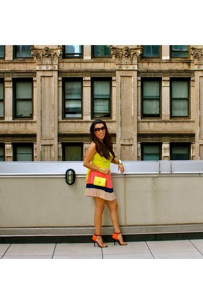 Forever 21 skirt - Zara shoes - H&M bag - Forever 21 top