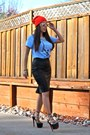 Gap-hat-gap-t-shirt-leather-zara-skirt-christian-louboutin-pumps